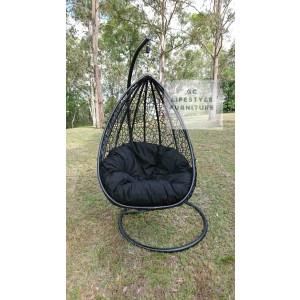 Josephine style Hanging Egg chair