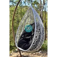Elliott single seater Hanging Egg Pod chair
