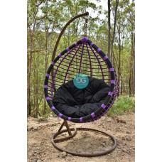 Kehlani single seater Hanging Egg Pod chair